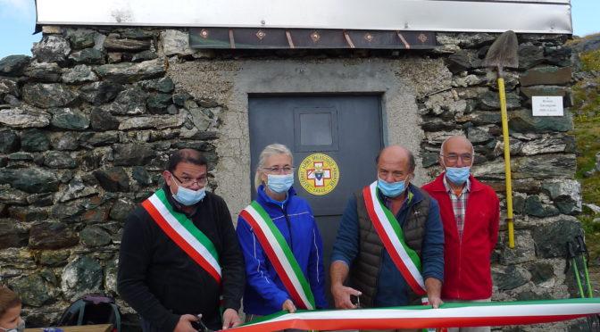 Inaugurati il bivacco Carmagnola e il sentiero Gustin